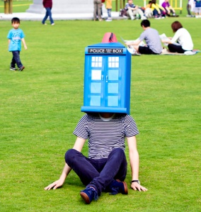 Tardis on Head