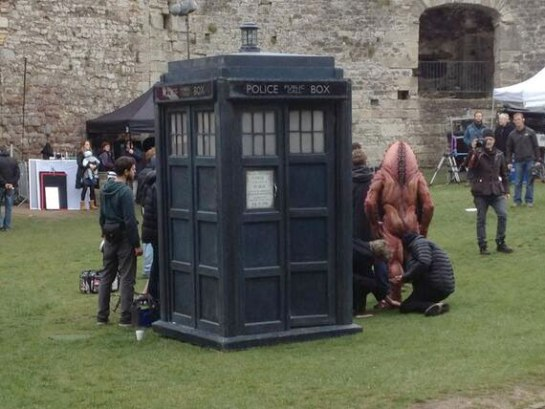 tens-tardis-50th-filming