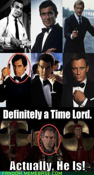 Bond Time Lord