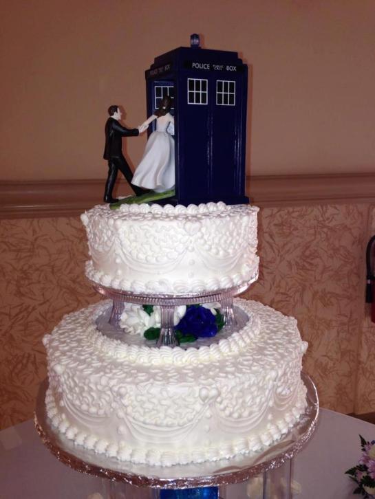 Jennifer Kane's Wedding Cake