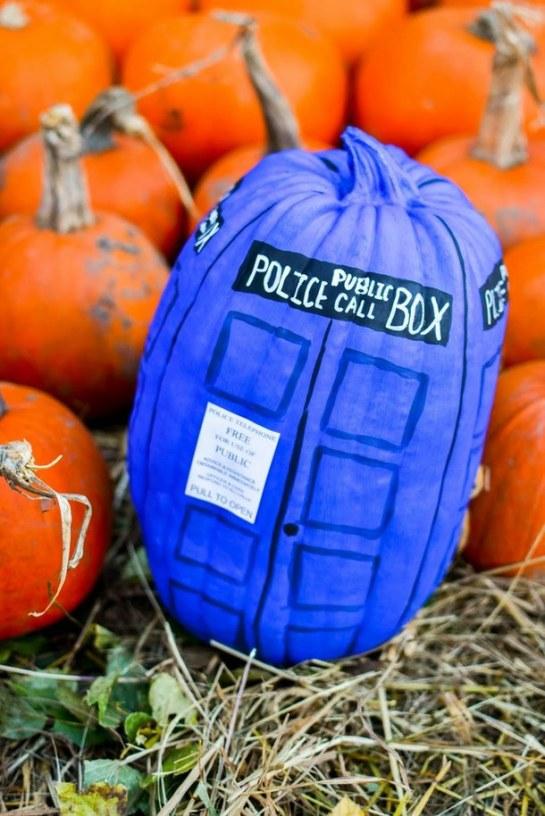 PumpkinPaintedTARDIS