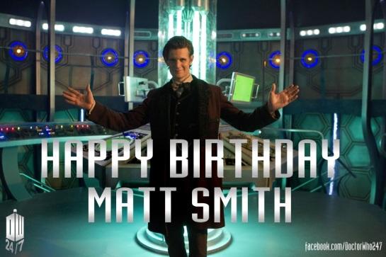 BirthdayMattSmith