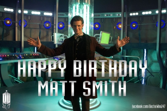BirthdayMattSmith